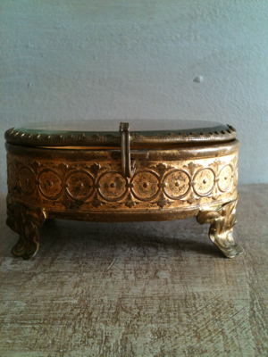 French Antique Jewelry Boxes