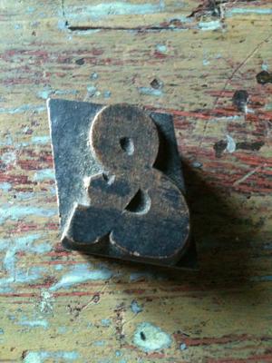 Wooden & Stamp