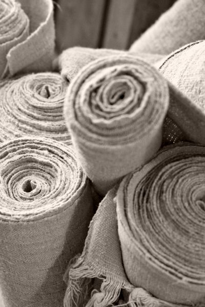 18th century rolls of hemp