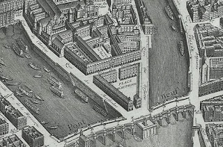 Detail of Plan de Paris, Turgot