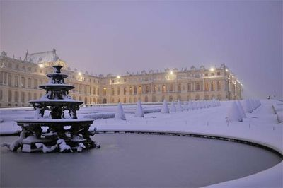 Christian milet winter in Versailles