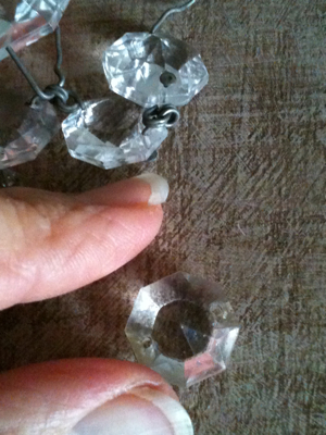 Set of Antique Crystals