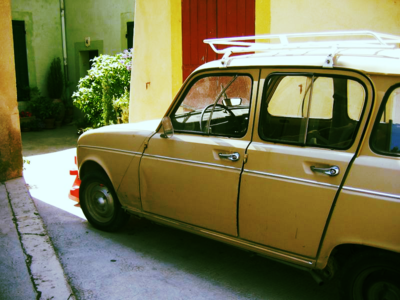 Old French car