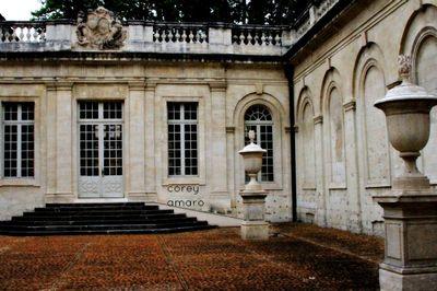 Courtyard avignon