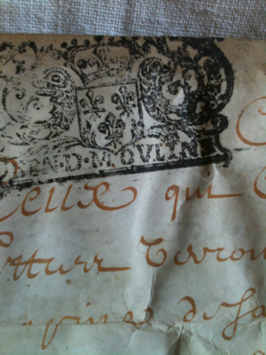 1685 French Document