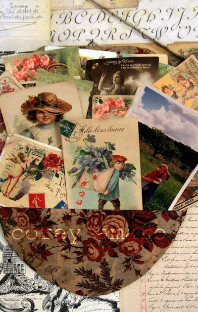 Collections postcards