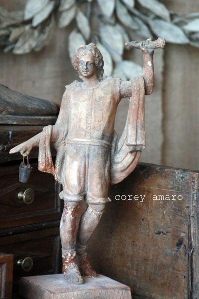 Statue in terre cuite