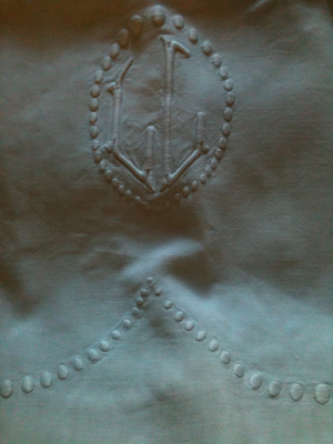 AntiquevLinen Monogram