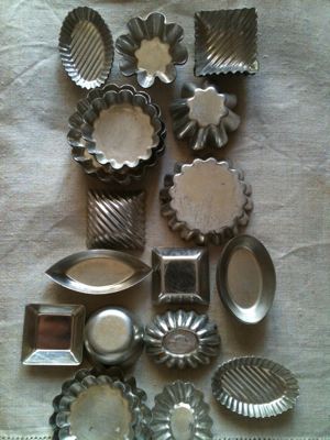 French Brocante Chocolate Molds