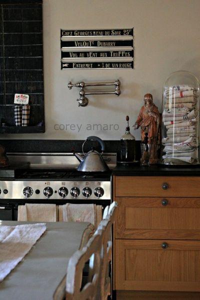 French Antique Kitchen
