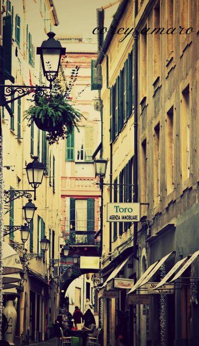 San Remo, street down town
