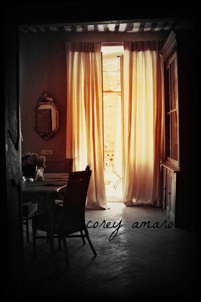 Antique Corey Amaro Sheer curtains