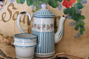 French Antique Enamelware