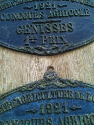 Antique Award Plaques