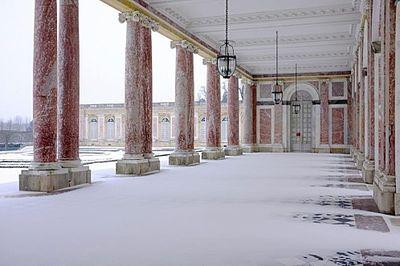 Versailles Winter in the Snow