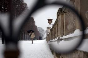 Paris under Snow, by Chelsea