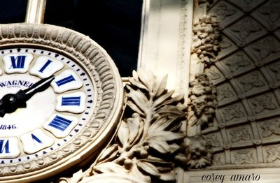 Parisian Clock Face