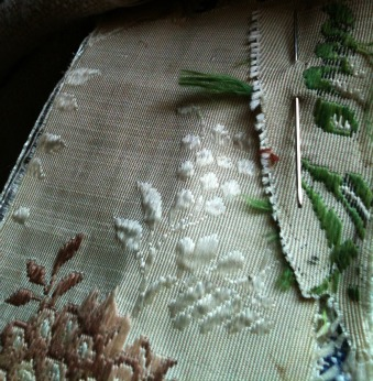 French 18th century fabric