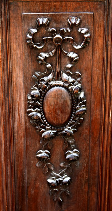 French 1900s door panel