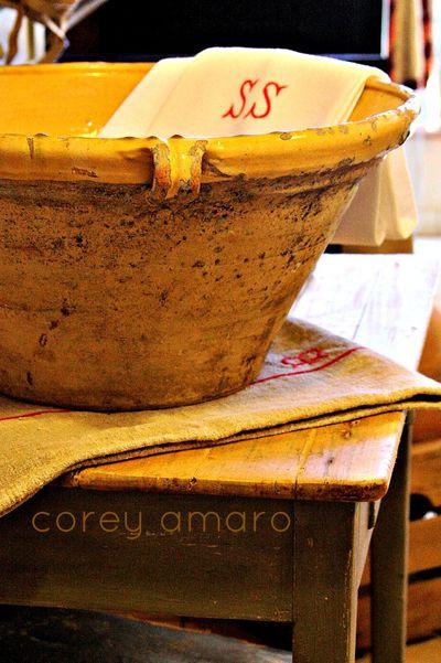 Confit pot, apt, provence, France