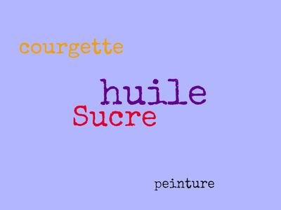 Words in French