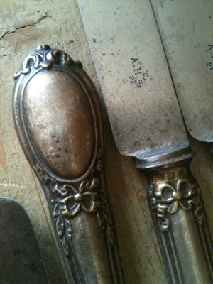 1800s Silver Knives
