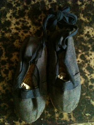 A List of French Brocante Online Provencal Childrens Shoes