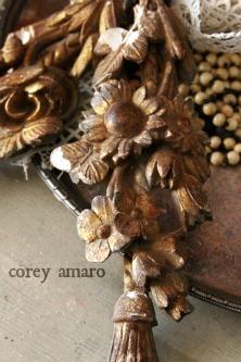Gilded wood