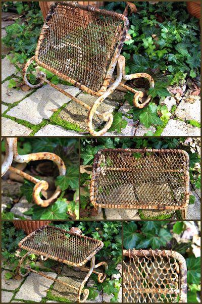 Antique Garden Kneeler