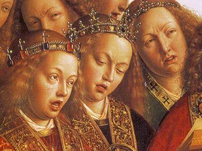Eyck_Ghent_Singing Angels