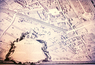 Turgot's Map of Paris