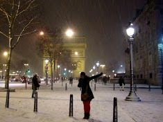 Paris! Snow! by Chelsea