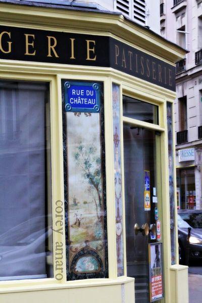 Paris spots rue du chateau