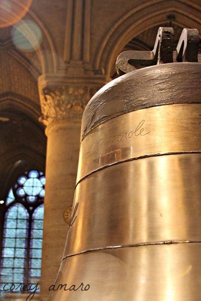 Notre dame Paris Bells