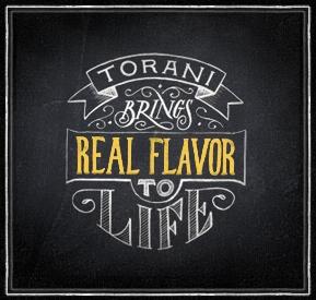 Torani real flavors