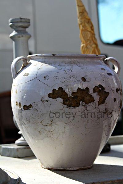 French antique,confit pot