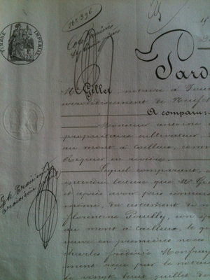 1853 Five Page Document