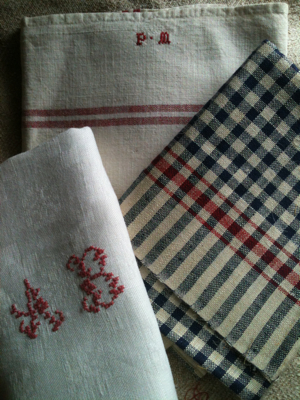 French Linens Set of Three