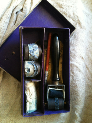 Ink Roller Set with Monograms
