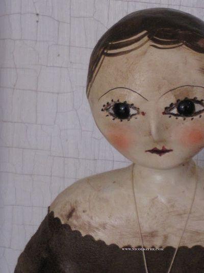 Handmade doll Nicol sayre