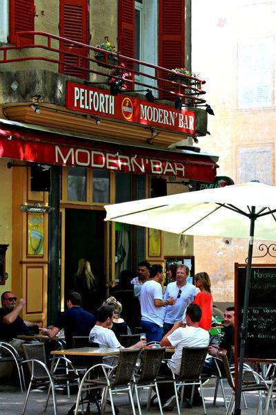 Modern bar france