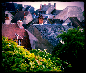 Postcards on the way to Paris