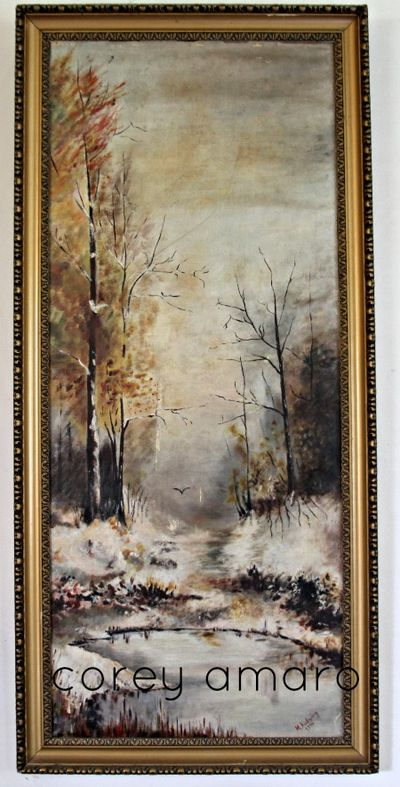 Painting by French Husband's grandmother