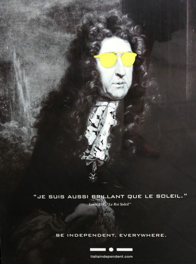 King Louis the 16th with Sunglasses