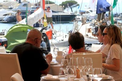 Lunch st tropez
