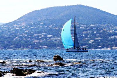 Sailing st tropez