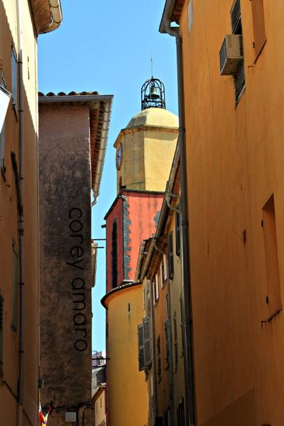 St tropez church tower