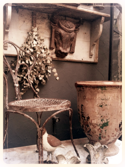 French Brocante Garden Auduze