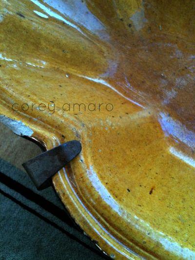 1900s Provencal Yellow dish
