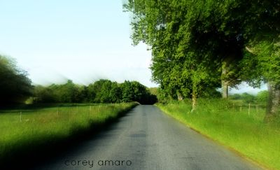 Driving the back roads through France